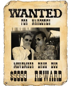 Justin and Mark, wanted for narcotics