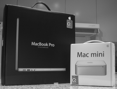 Photo of my new Macs