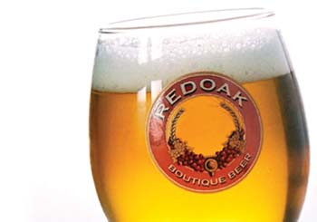 Red Oak beer photograph